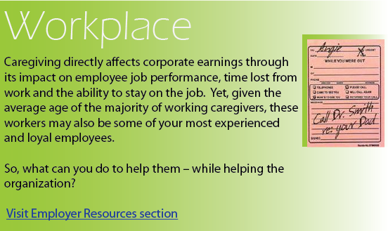 caregiving workplace, impact on most experienced and loyal employees, earnings impact of caregiving, caregiving workers